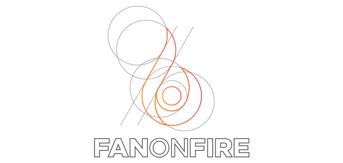 FanOnFire logo formation